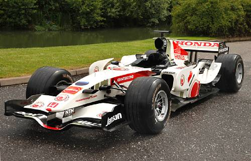 Brawn Gp To Sell Their Old Cars At Auction