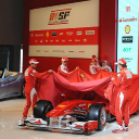 Ferrari F10 launch