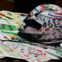 Timo Glock\'s Nürburgring Helmet, 2009
