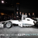 2010 Mercedes GP Petronas Launch