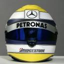 Nico Rosberg\'s 2010 helmet