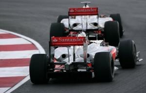McLaren MP4-24 in testing