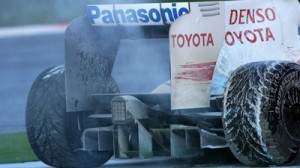 Toyota's diffuser after an engine failure