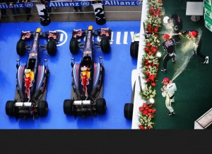 Red Bull One-Two, China, 2009
