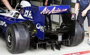 Williams FW31 diffuser