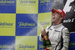 Jenson Button, Spain, 2009