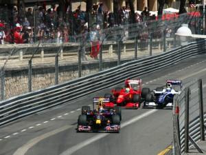 Rosberg passes Massa, Monaco, 2009