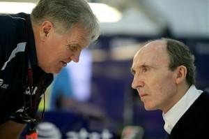 Patrick Head and Sir Frank Williams