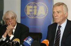 Bernie Ecclestone, Max Mosley, June 2009
