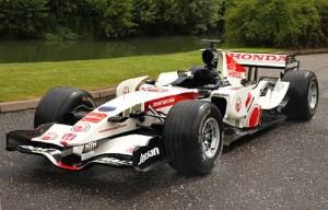 Ex-Jenson Button 2006 Honda RA106