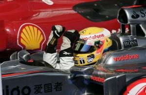 Lewis Hamilton, Hungary, 2009