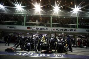 Nico Rosberg, Singapore, 2008